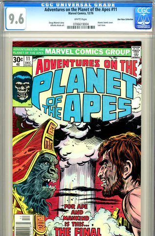 Adventures of the Planet of the Apes #11 CGC graded 9.6 last issue - SOLD!