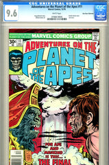 Adventures of the Planet of the Apes #11 CGC graded 9.6 last issue