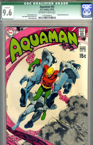 Aquaman #52   CGC graded 9.6 - SOLD!