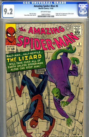 Amazing Spider-Man #006   CGC graded 9.2 - SOLD!