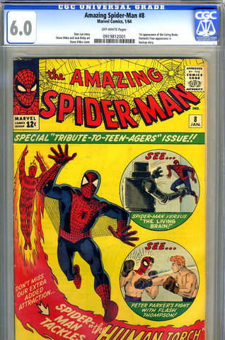 Amazing Spider-Man #008   CGC graded 6.0 - SOLD