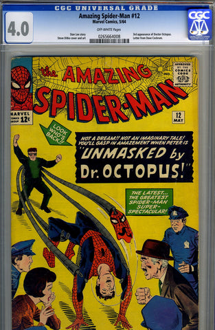 Amazing Spider-Man #012   CGC graded 4.0 - SOLD!