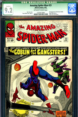 Amazing Spider-Man #023 CGC graded 9.2 third Green Goblin