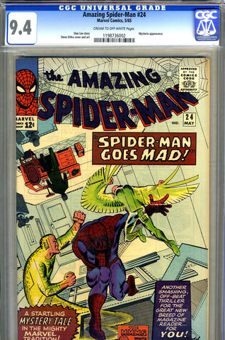Amazing Spider-Man #024   CGC graded 9.4 - SOLD!