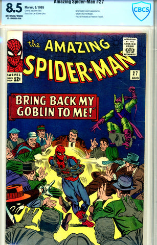Amazing Spider-Man #027 CBCS graded 8.5  SOLD!