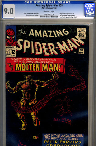 Amazing Spider-Man #028   CGC graded 9.0 - SOLD