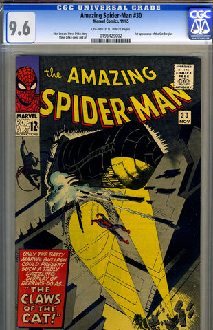 Amazing Spider-Man #030   CGC graded 9.6 - SOLD!