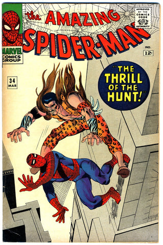 Amazing Spider-Man #034   VERY FINE   1966
