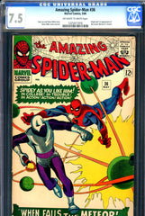 Amazing Spider-Man #036 CGC graded 7.5 origin/first Looter