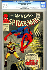 Amazing Spider-Man #046 CGC graded 7.5 origin/first Shocker
