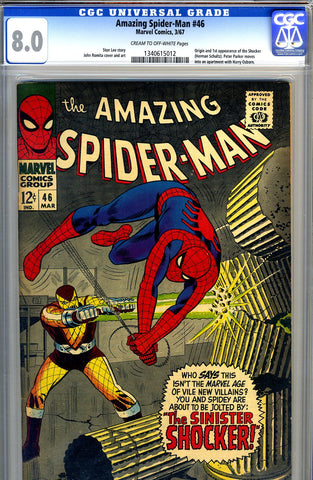 Amazing Spider-Man #046   CGC graded 8.0 - SOLD!