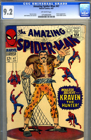 Amazing Spider-Man #047   CGC graded 9.2 - SOLD!