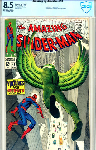 Amazing Spider-Man #048 CBCS graded 8.5 SOLD!