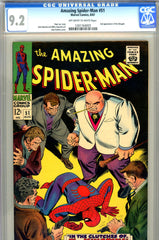 Amazing Spider-Man #051 CGC graded 9.2 second Kingpin