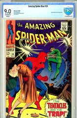 Amazing Spider-Man #054  CBCS graded 9.0