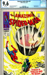 Amazing Spider-Man #061 CGC graded 9.6 1st Gwen Stacey