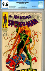 Amazing Spider-Man #062 CGC graded 9.6