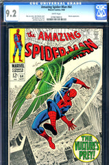 Amazing Spider-Man #064 CGC graded 9.2 white pages