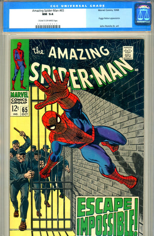 Amazing Spider-Man #065   CGC graded 9.4 SOLD!