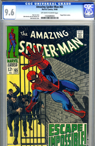 Amazing Spider-Man #065   CGC graded 9.6 SOLD!