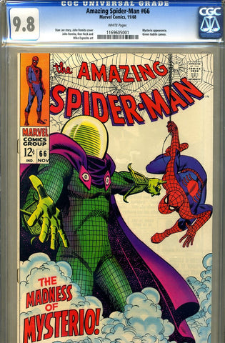 Amazing Spider-Man #066   CGC graded 9.8 - HIGHEST - SOLD!