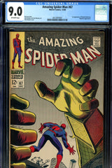 Amazing Spider-Man #067 CGC graded 9.0 first appearance of Randy Robertson