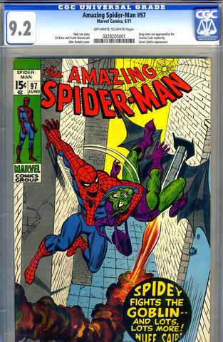 Amazing Spider-Man #097   CGC graded 9.2 - SOLD