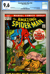 Amazing Spider-Man #104 CGC graded 9.6 white pages