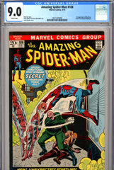 Amazing Spider-Man #108 CGC graded 9.0 first Sha-Shan