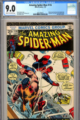 Amazing Spider-Man #116 CGC graded 9.0 John Romita cover
