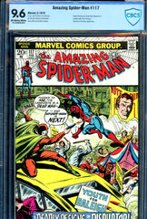 Amazing Spider-Man #117 CBCS graded 9.6 - Romita cover