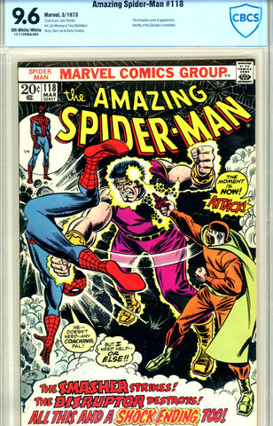 Amazing Spider-Man #118 CBCS graded 9.6 SOLD!