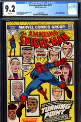 Amazing Spider-Man #121 CGC graded 9.2  death of Gwen Stacy