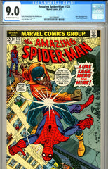 Amazing Spider-Man #123 CGC graded 9.0 Gwen Stacy funeral