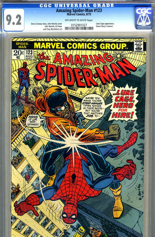 Amazing Spider-Man #123   CGC graded 9.2 - SOLD
