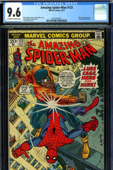Amazing Spider-Man #123 CGC graded 9.6 Gwen Stacy's funeral