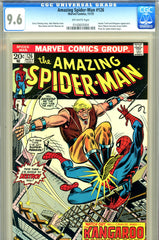 Amazing Spider-Man #126 CGC graded 9.6 Harry becomes Goblin