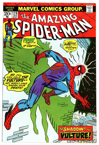 Amazing Spider-Man #128 VERY FINE 1974