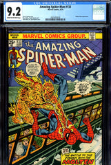 Amazing Spider-Man #133 CGC graded 9.2 John Romita cover
