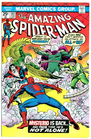 Amazing Spider-Man #141  VERY FINE 1975