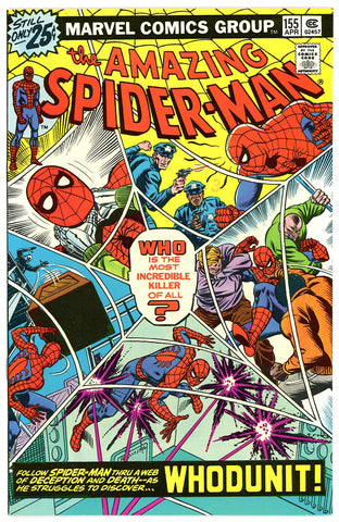 Amazing Spider-Man #155 NEAR MINT 1976