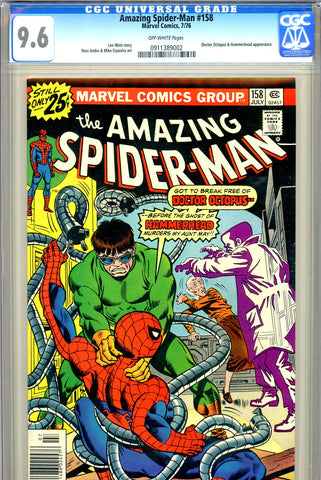 Amazing Spider-Man #158 CGC 9.6 - John Romita cover - SOLD!