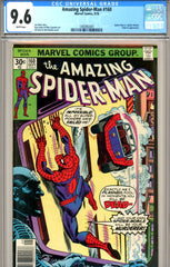 Amazing Spider-Man #160 CGC graded 9.6 white pages