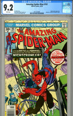 Amazing Spider-Man #161 CGC graded 9.2 white pages