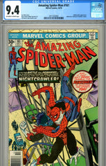Amazing Spider-Man #161 CGC graded 9.4