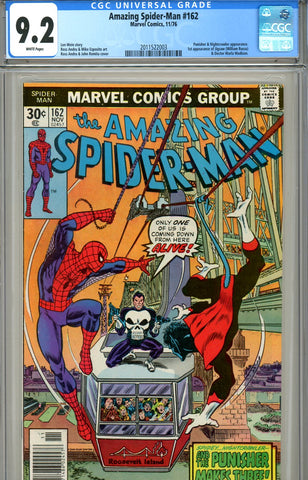 Amazing Spider-Man #162 CGC graded 9.2 first Jigsaw SOLD!