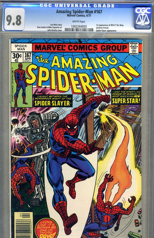 Amazing Spider-Man #167   CGC graded 9.8 SOLD!