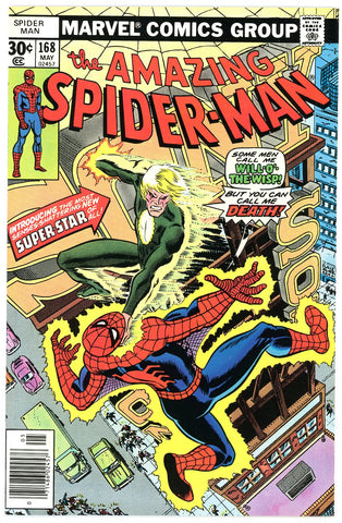 Amazing Spider-Man #168 NEAR MINT 1977
