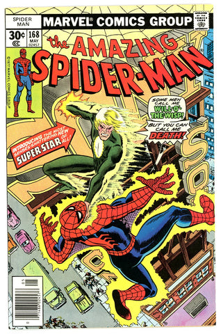 Amazing Spider-Man #168   NEAR MINT-   1977
