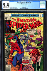 Amazing Spider-Man #170 CGC graded 9.4 villain cover